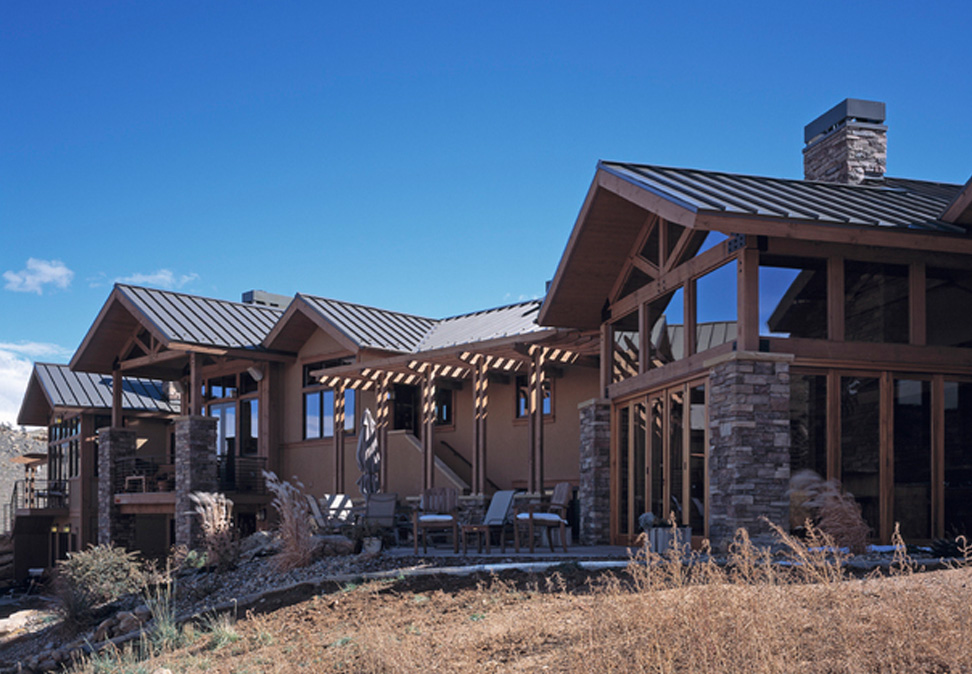 Foothills country ranch style custom home cottonwood for Custom built ranch homes