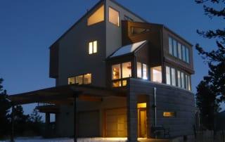 Nederland Green Home Remodel Exterior