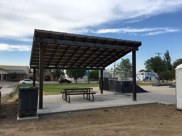 Berthoud Skate Park - Donated by Cottonwood Custom Builders